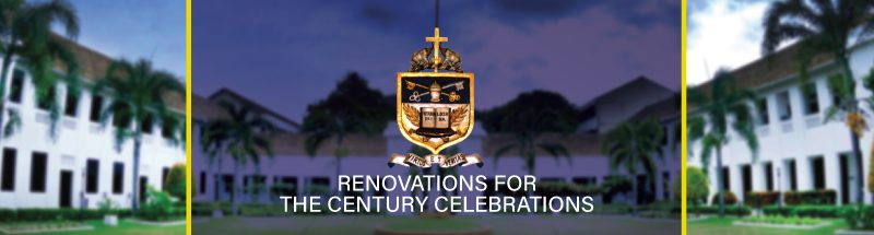 Renovations for the Century Celebrations